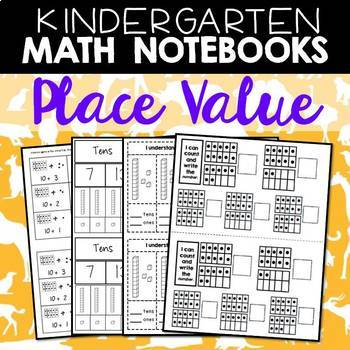 Math Journals: Kindergarten Place Value