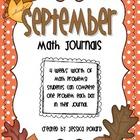 Math Journals {September}