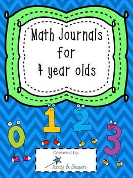 Math Journals for 4's