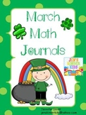 Math Journals for March
