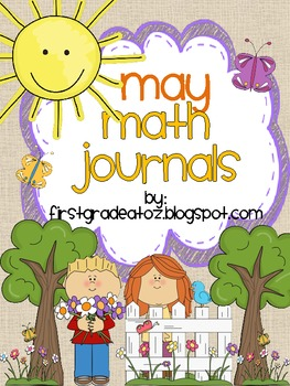 Math Journals for the Month of May