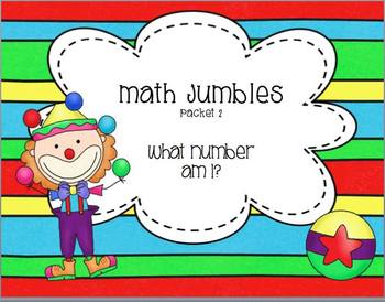 Math Jumbles Packet 2