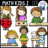 Math Kids 2 Clip Art Whimsy Workshop Teaching