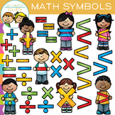 Math Kids - Math Symbols Clip Art