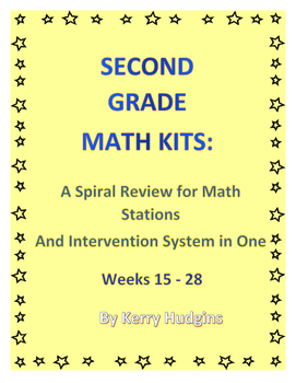 Math Kits 2:  A Spiral Review for Math Stations and Interv