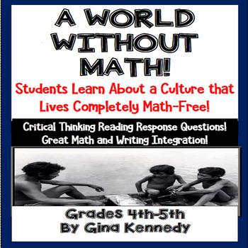 A World Without Math Passage, Math/  Language Arts Integration
