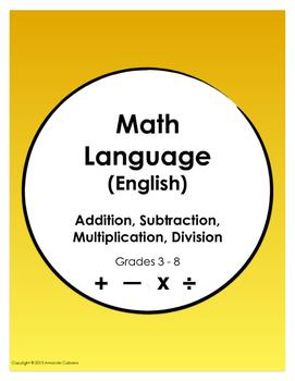 Math Language (English)