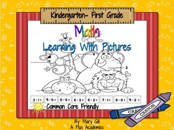 First Grade Math- Learning With Pictures K-1