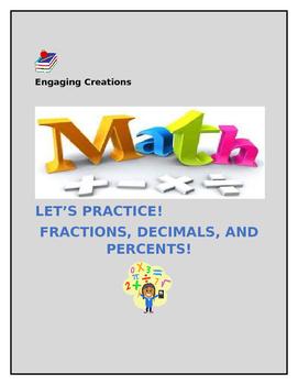 Math Lesson:  Fractions, Decimals, Percents