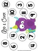 Math & Literacy Activity Pack Monster Themed