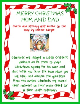 Math Literacy Lesson - Quick Easy! FREE!!