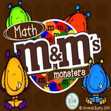 Math M&M's Monsters