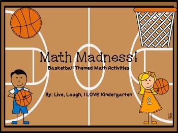Math Madness: Basketball Themed Math Activities
