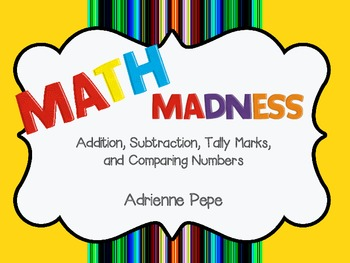 Math Madness: Puzzles and Practice Pages