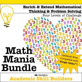 Math Mania - Extend & Enrich Critical Thinking & Problem S