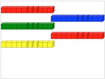 Math Manipulative Cubes