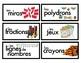 Math Manipulative Labels - French