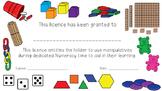 Math Manipulative Licence