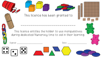Math Manipulative Licence