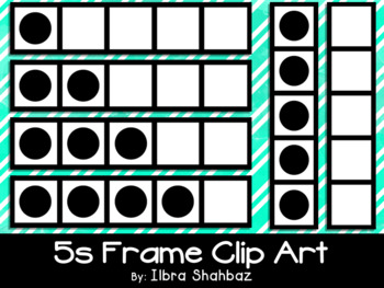 5s Frame Clipart {FREEBIE}