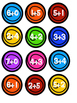 Math Marbles Addition Game