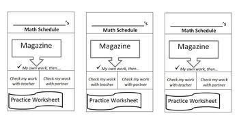 Math Mark--2nd Grade Envision Math, Classroom Mangement Tool
