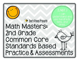 Math Masters: 2nd Grade Common Core Printables 2.NBT.1: Pl
