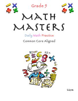 Math Masters Week 4