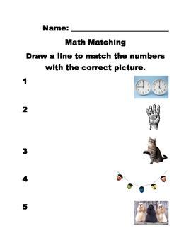 Math Matching 2