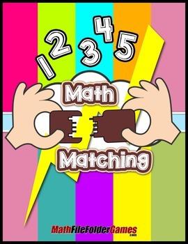 Math Matching {Measurement Activity}
