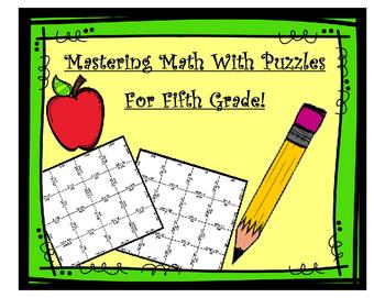 Math Matching Puzzles