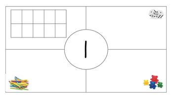 Math Mats Numbers 0-10