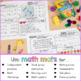 Math Mats Review for February First Grade
