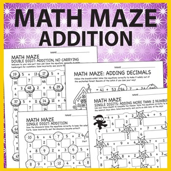 Math Maze: Addition