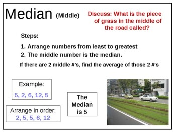 Math mean median mode range mmmr powerpoint by theteacherspet77 teachers pay teachers - What is the meaning of commode ...