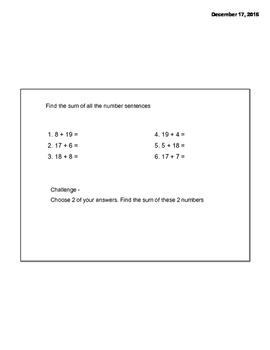 Math Message Week 27