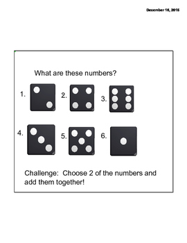 Math Message week 1 day 1