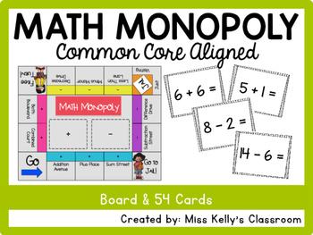 Math Monopoly (Common Core Aligned)
