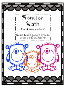 Math Monsters - Googly Eye Math