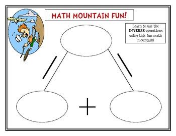 Math Mountain Fun!