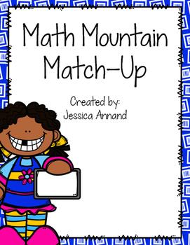 Math Mountain Match - Up