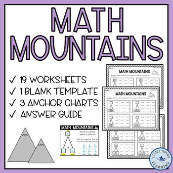 Math Mountains! (Math Expressions Grade 2 Compatible)
