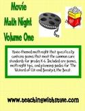 Math Movie Night Volume One