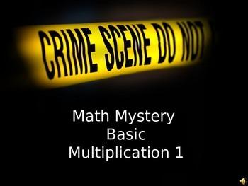 Math Mystery Basic multiplication 1