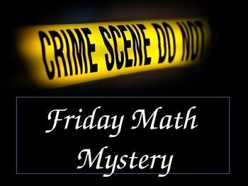 Math Mystery Metric