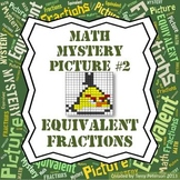 Math Mystery Picture #2 Equivalent Fractions