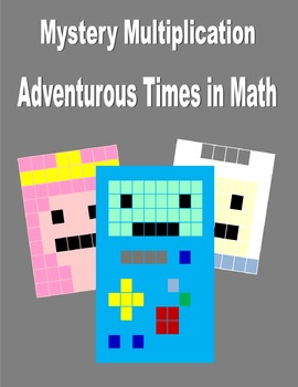 Math Mystery Pictures: Editable, Multiple Characters