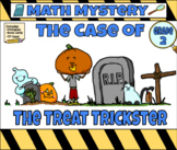 Halloween Math Mystery The Case of the Grave Robber Grade 2