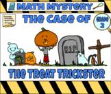 Halloween Math Mystery  Grade 2