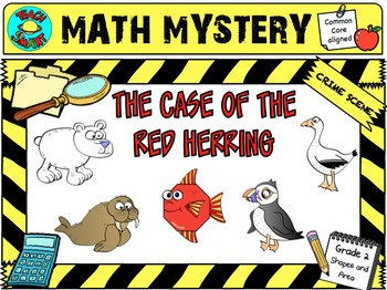 Math Mystery The Case of the Red Herring (Grade 2)